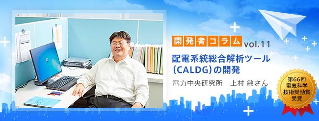 配電系統総合解析ツール(CALDG)の開発