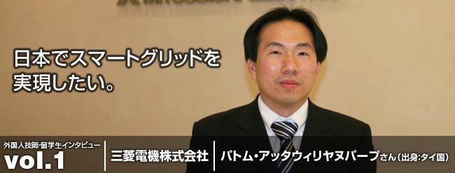 日本でスマートグリッドを実現したい。